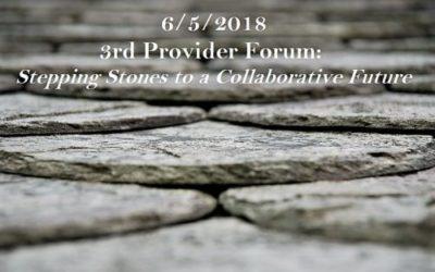 6/5/2018 Provider Forum
