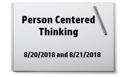 Person Centered Thinking Training
