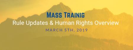 3/5/19 Mass Training