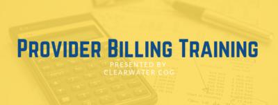 6/5/2019 Provider Billing Training