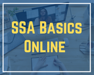 7/30/20 SSA Basics Online CPT Workday Session #2