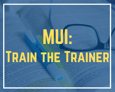 11/19/2020 MUI: Train the Trainer