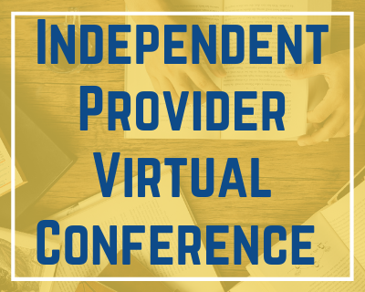 1/21/21 Independent Provider Virtual Conference
